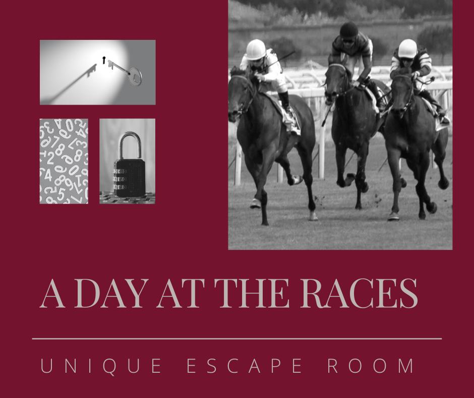 Horse racing escape room design