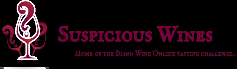 Suspicious Wines Logo